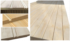 <strong>Hot Sale! Grooved Pine Plywood!</strong>